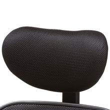 Baxton Studio Sebastian Modern and Contemporary Ergonomic Black Mesh Office Chair Baxton Studio-office chairs-Minimal And Modern - 9