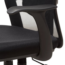 Baxton Studio Sebastian Modern and Contemporary Ergonomic Black Mesh Office Chair Baxton Studio-office chairs-Minimal And Modern - 11