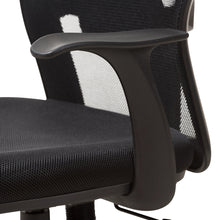 Baxton Studio Kurber Modern and Contemporary Ergonomic Black Mesh Office Chair With Bifma Certification Baxton Studio-office chairs-Minimal And Modern - 7