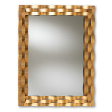 Baxton Studio Arpina Modern and Contemporary Antique Gold Finished Rectangular Accent Wall Mirror Baxton Studio-mirrors-Minimal And Modern - 1