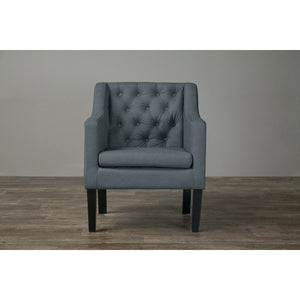 Baxton Studio Brittany Club Chair Baxton Studio-chairs-Minimal And Modern - 2