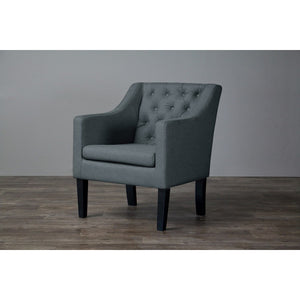 Baxton Studio Brittany Club Chair Baxton Studio-chairs-Minimal And Modern - 3