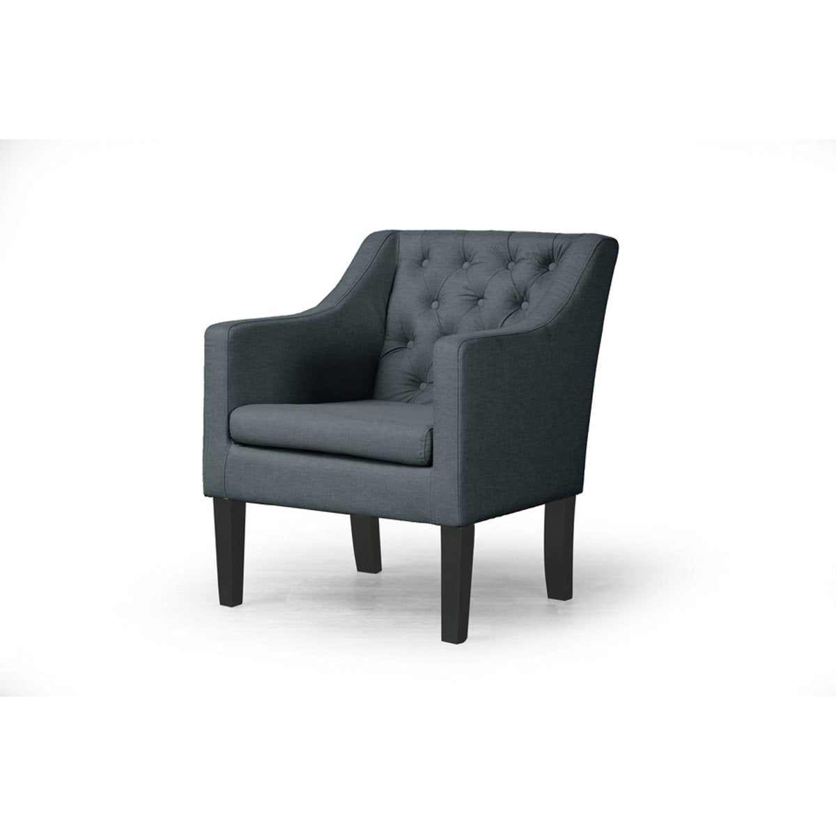 Baxton Studio Brittany Club Chair Baxton Studio-chairs-Minimal And Modern - 1