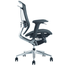 Finemod Imports Modern Ergo Fit Highly Adjustable Mesh Office Chair FMI9292-black-Minimal & Modern