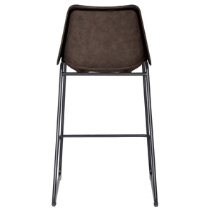 Delta PU Leather ABS Counter Stool by New Pacific Direct - 9300022