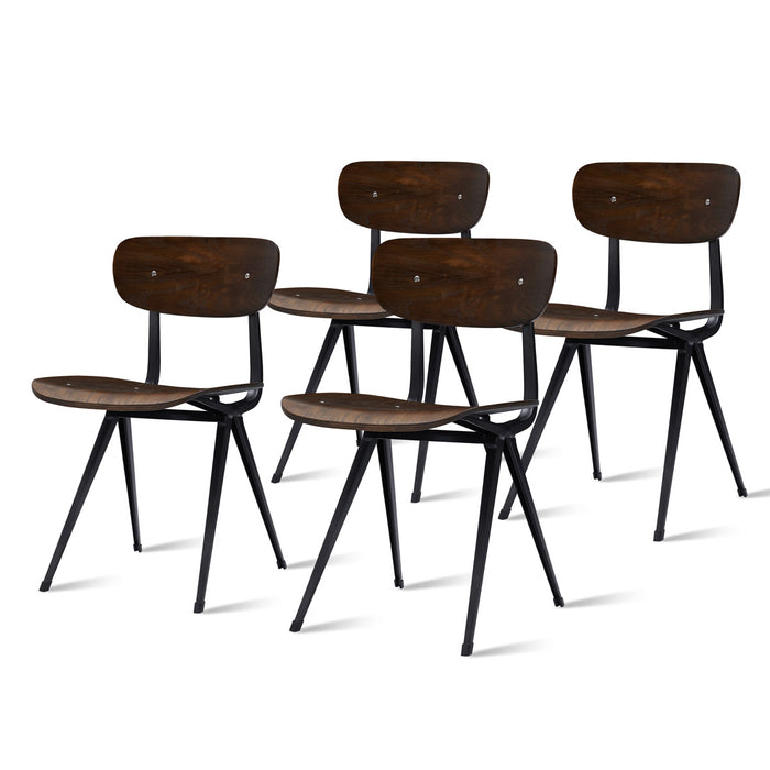 Ezra Chair - Set of 4 by New Pacific Direct - 9300071