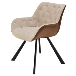 Amora Fabric Tufted Chair by New Pacific Direct - 9300092