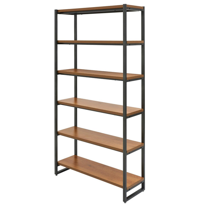 Anderson 6 Tier Bookcase by New Pacific Direct - 9300107