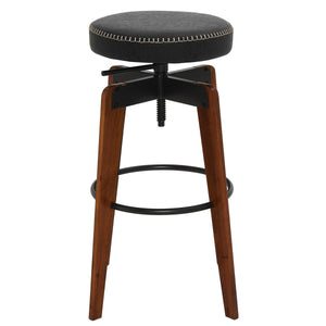 Nelson PU Adjustable Stool by New Pacific Direct - 9300109