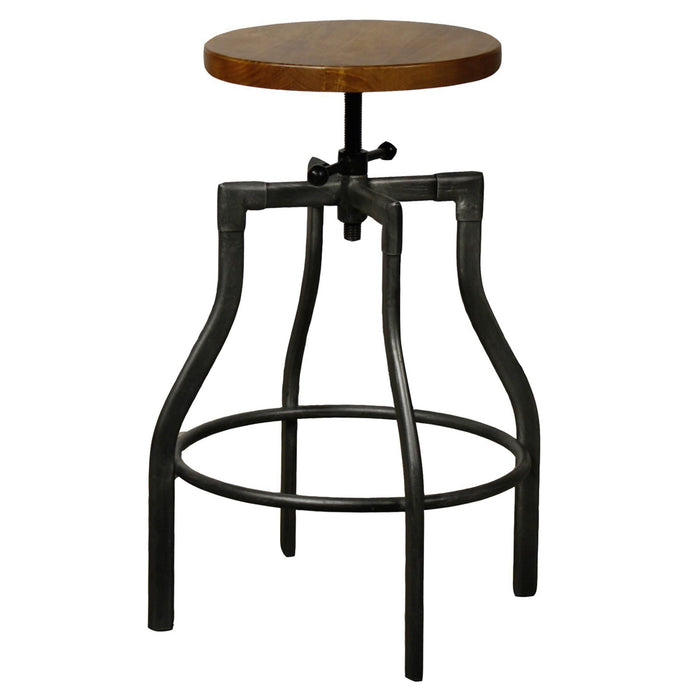 Industrial City Bar Stool by New Pacific Direct - 958616
