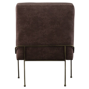 James PU Leather Chair by New Pacific Direct - 9900018