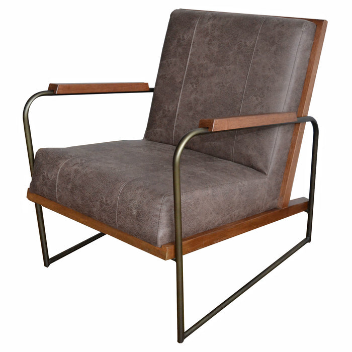 Damian PU Leather Accent Chair by New Pacific Direct - 9900021