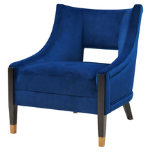 Eugene Velvet Fabric Accent Chair by New Pacific Direct - 9900036