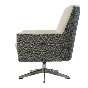 Astoria Fabric Swivel Accent Chair by New Pacific Direct - 9900037