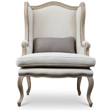 Baxton Studio Auvergne Wood Traditional French Accent Chair Baxton Studio-chairs-Minimal And Modern - 2