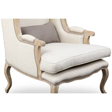 Baxton Studio Auvergne Wood Traditional French Accent Chair Baxton Studio-chairs-Minimal And Modern - 6