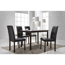 Baxton Studio Andrew Modern Dining Table Baxton Studio-dining table-Minimal And Modern - 2
