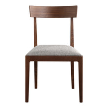 Moe's Home Collection Leone Dining Chair Walnut Set of Two - BC-1078-24 - Moe's Home Collection - Dining Chairs - Minimal And Modern - 1