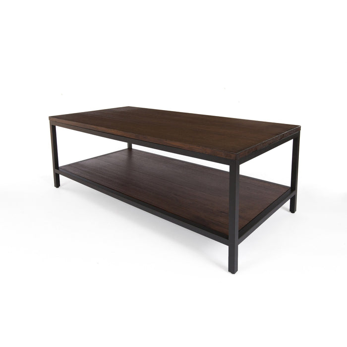 Bamboogle Rustic Grey Bamboo Coffee Table With Black Legs BKL-20-B-4924-G-Minimal & Modern