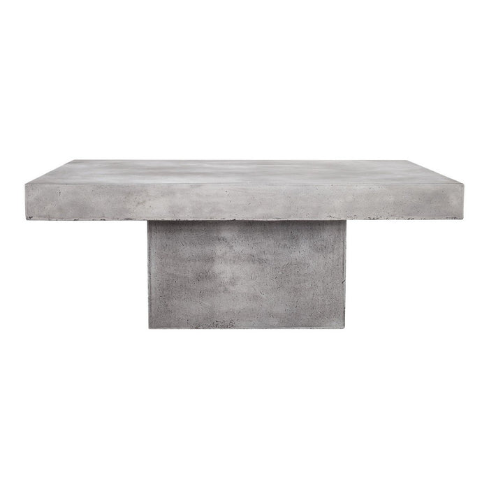 Moe's Home Collection Maxima Outdoor Coffee Table - BQ-1007-25 - Moe's Home Collection - Coffee Tables - Minimal And Modern - 1