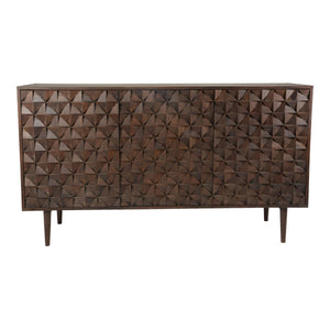 Moe's Home Collection Pablo 3 Door Sideboard - BZ-1039-03 - Moe's Home Collection - Sideboards - Minimal And Modern - 1