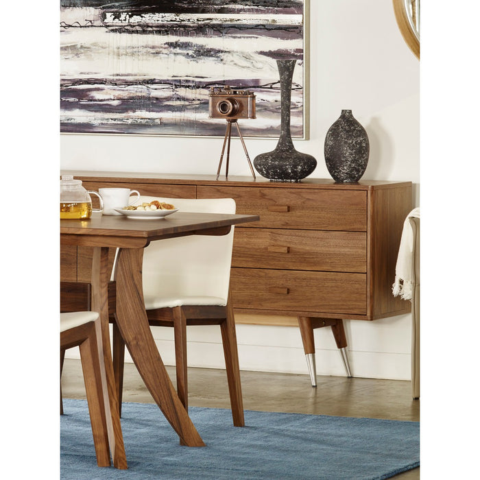 MOE'S HOME COLLECTION SIENNA SIDEBOARD WALNUT SMALL - CB-1023-03-Minimal & Modern