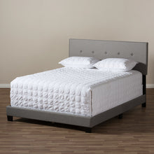 Baxton Studio Hampton Modern and Contemporary Light Grey Fabric Upholstered Full Size Bed Baxton Studio-Full Bed-Minimal And Modern - 7