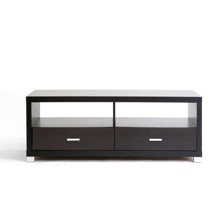 Baxton Studio  Derwent Coffee Table with Drawers Baxton Studio-coffee tables-Minimal And Modern - 1