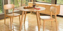 "Greenington Modern Bamboo Currant 42"" Round Dining Table Dining Tables - bamboomod"
