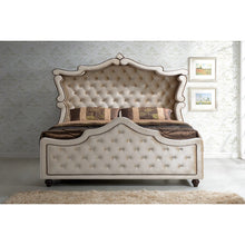 Meridian Furniture Diamond Queen Canopy Bed-Minimal & Modern