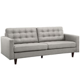 Modway Furniture Empress Upholstered Sofa Lightgray, Sofas - Modway Furniture, Minimal & Modern - 22