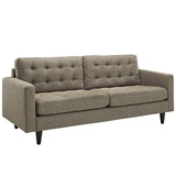 Modway Furniture Empress Upholstered Sofa Oatmeal, Sofas - Modway Furniture, Minimal & Modern - 18