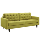 Modway Furniture Empress Upholstered Sofa Wheatgrass, Sofas - Modway Furniture, Minimal & Modern - 5