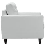 Modway Furniture Empress Leather Armchair , Armchair - Modway Furniture, Minimal & Modern - 8