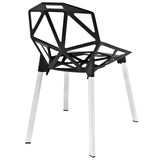 Modway Furniture Connections Modern Dining Side Chair , Dining Chairs - Modway Furniture, Minimal & Modern - 3