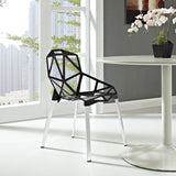 Modway Furniture Connections Modern Dining Side Chair , Dining Chairs - Modway Furniture, Minimal & Modern - 4