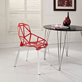 Modway Furniture Connections Modern Dining Side Chair , Dining Chairs - Modway Furniture, Minimal & Modern - 8