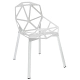 Modway Furniture Connections Modern Dining Side Chair White, Dining Chairs - Modway Furniture, Minimal & Modern - 9