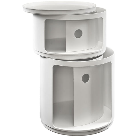 Modway Furniture Orbit Storage Module White, Storage - Modway Furniture, Minimal & Modern - 1