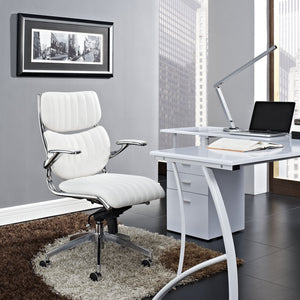 Modway Modern Escape Mid Back Adjustable Computer Office Chair EEI-1028-Minimal & Modern