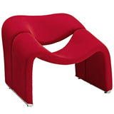 Modway Furniture Modern Cusp Lounge Chair Red, Chairs - Modway Furniture, Minimal & Modern - 6