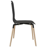 Modway Furniture Stack Modern Dining Wood Side Chair , Dining Chairs - Modway Furniture, Minimal & Modern - 2