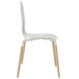 Modway Furniture Stack Modern Dining Wood Side Chair , Dining Chairs - Modway Furniture, Minimal & Modern - 10