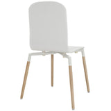 Modway Furniture Stack Modern Dining Wood Side Chair , Dining Chairs - Modway Furniture, Minimal & Modern - 11