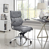 Modway Modern Push Mid Back Adjustable Computer Office Chair - Minimal & Modern - 12