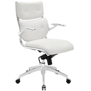 Modway Modern Push Mid Back Adjustable Computer Office Chair EEI-1062-Minimal & Modern