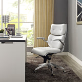 Modway Modern Push Mid Back Adjustable Computer Office Chair - Minimal & Modern - 8