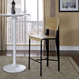Modway Furniture Cabin Modern Counter Stool , Counter Stools - Modway Furniture, Minimal & Modern - 8