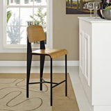 Modway Furniture Cabin Modern Counter Stool , Counter Stools - Modway Furniture, Minimal & Modern - 4