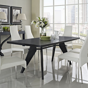 Modway Furniture Clasp Modern Dining Table EEI-1078-WEN-Minimal & Modern